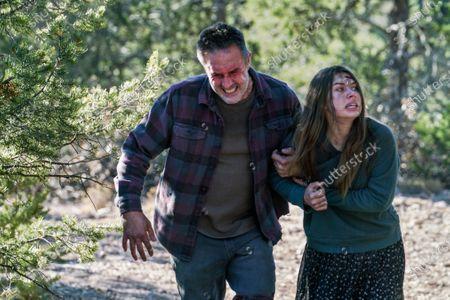 David Arquette as Roger Durbin and Caitlin Carmichael as Tulsa