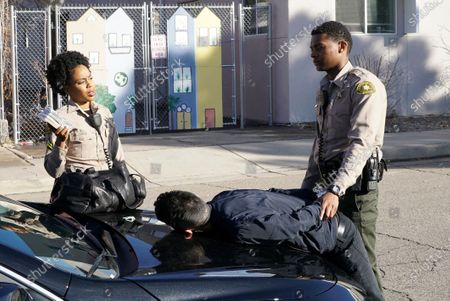 Danielle Mone Truitt as Charlie Minnick, Christopher Naoki Lee as Kaito Hamanaka and Shane Paul McGhie as Deputy Joseph Harris