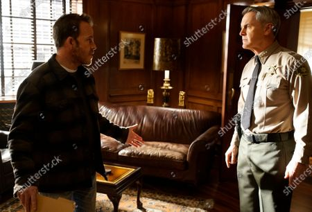 Stephen Dorff as Sheriff Bill Hollister and Mark Moses as Undersheriff Jerry London