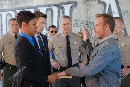 Cassandra Relynn as Judge Mayberry, Cory Scott Allen as Julius Fabian, Stephen Dorff as Sheriff Bill Hollister, Mark Moses as Undersheriff Jerry London and Jamie FitzSimons as Commander Clarke