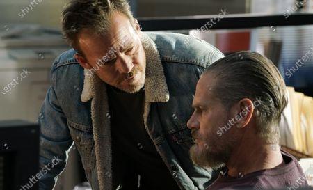 Stephen Dorff as Sheriff Bill Hollister and Brian Van Holt as Detective Cade Ward