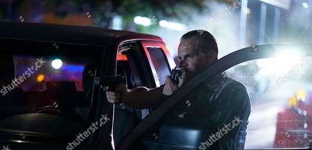 Stock Image of Brian Van Holt as Detective Cade Ward