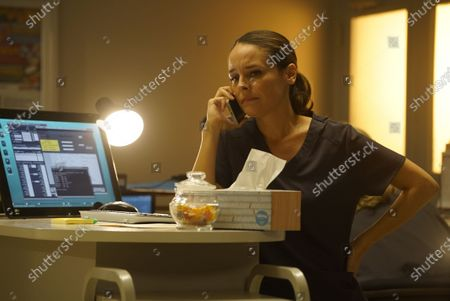 Stock Picture of Yara Martinez as Dr. Paula Reyes