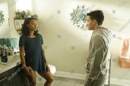 Karrueche Tran as Genevieve and Bex Taylor-Klaus as Deputy Brianna Bishop
