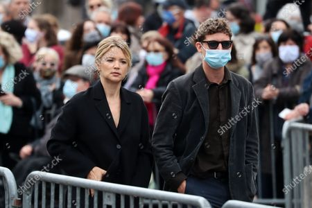 Editorial photo of Funeral ceremony of Guy Bedos, Paris, France - 04 Jun 2020