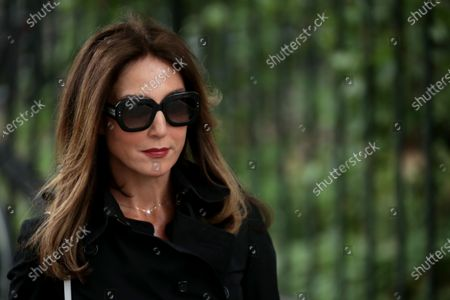 Elsa Zylberstein attends the funeral ceremony of the French actor Guy Bedos at the Church of Saint-Germain-des-Pres in Paris, France, 04 June 2020. Bedos died at the age of 85 in Paris on 28 May 2020.