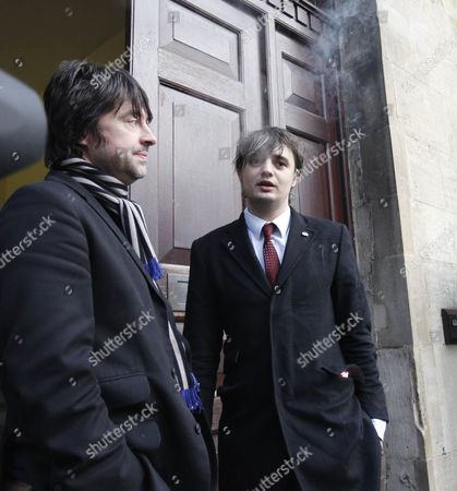 Andy Boyd and Pete Doherty
