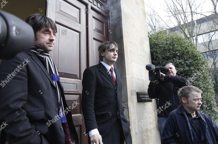 Stock Image of Andy Boyd and Pete Doherty