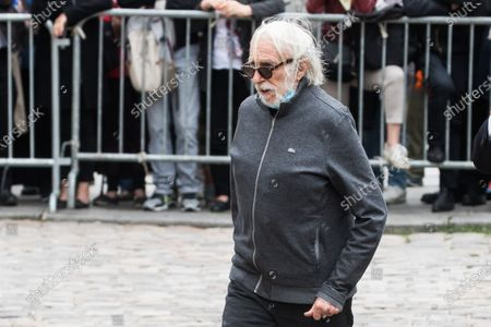 Pierre Richard attends the funeral ceremony for Guy Bedos at the Church of Saint-Germain-des-Pres in Paris, France, 04 June 2020. Bedos, an actor, stand-up comedian and screenwriter best known for his recurring role as Simon in 1970s comedies directed by Yves Robert, passed away on 28 May at the age of 85 in Paris. Born in Algeria, Bedos was very active in left-wing politics and gained popularity for his biting satirical sketches and impressions.