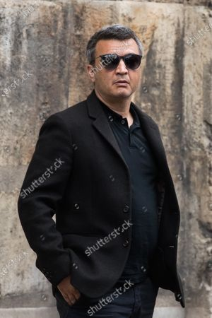 Thomas Langmann attends the funeral ceremony for Guy Bedos at the Church of Saint-Germain-des-Pres in Paris, France, 04 June 2020. Bedos, an actor, stand-up comedian and screenwriter best known for his recurring role as Simon in 1970s comedies directed by Yves Robert, passed away on 28 May at the age of 85 in Paris. Born in Algeria, Bedos was very active in left-wing politics and gained popularity for his biting satirical sketches and impressions.