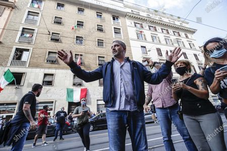 Editorial photo of Preventive seizure of far-right movement 'Casapound' proprety, Rome, Italy - 04 Jun 2020
