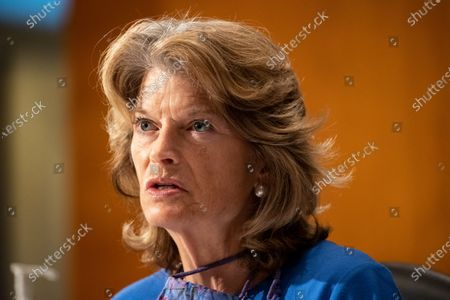 """United States Senator Lisa Murkowski (Republican of Alaska), makes remarks during the US Senate Health, Education, Labor, and Pensions Committee during a hearing titled """"COVID-19: Going Back to School Safely"""" on Capitol Hill in Washington, DC. Earlier in the day, Murkowski praised former US Secretary of Defense James Mattis for his statement in """"The Atlantic"""" backing the protestors demonstrating against the wrongful death of George Floyd and saying US President Donald J. Trump is trying to divide Americans."""