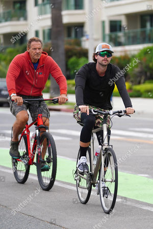 Editorial photo of Arnold Schwarzenegger out and about, Los Angeles, USA - 04 Jun 2020