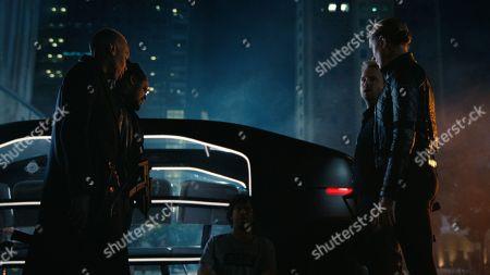 Lena Waithe as Ash, Marshawn Lynch as Giggles, Aaron Paul as Caleb Nichols and Evan Rachel Wood as Dolores Abernathy