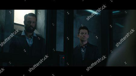 Rodrigo Santoro as Hector Escaton/Ettore and Simon Quarterman as Lee Sizemore