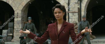 Stock Image of Thandiwe Newton as Maeve Millay