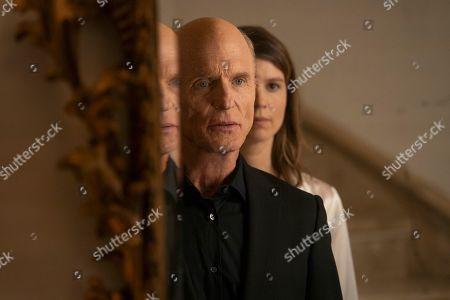 Ed Harris as Man in Black and Katja Herbers as Emily Grace