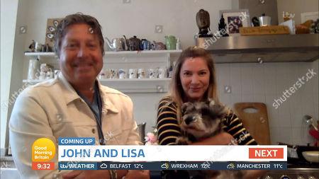 John Torode and Lisa Faulkner