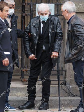 Editorial photo of Guy Bedos funeral, Paris, France - 04 Jun 2020