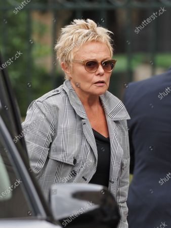 Stock Picture of Muriel Robin. The funeral of comedian and humorist Guy Bedos who died on May 28 at the age of 85 took place this Thursday June 4 at the Saint-Germain-des-Pres church in Paris. Many personalities came to support his family.