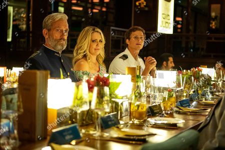Stock Photo of Hugh Laurie as Ryan Clark, Jessica St. Clair as Mia and Adam Palsson as Mads