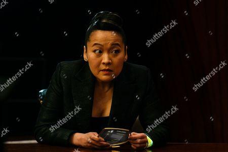 Stock Photo of Suzy Nakamura as Iris Kimura