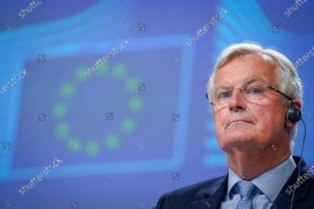Michel Barnier press conference, Brussels
