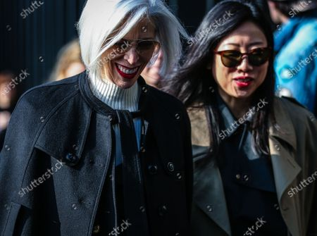 Editorial photo of On the street of Milan, Milan, Italy, Italy - 19 Feb 2020