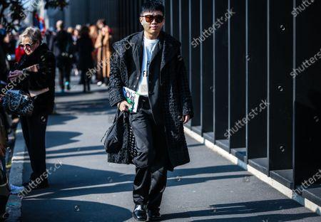 Editorial photo of On the street of Milan, Milan, Italy, Italy - 19 Feb 2020