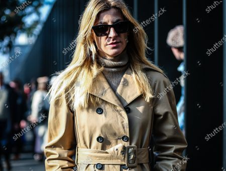 Editorial picture of On the street of Milan, Milan, Italy, Italy - 19 Feb 2020