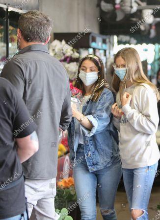 Ben Affleck, Ana de Armas and Violet Affleck