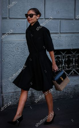 Editorial picture of On the street of Milan, Milan, Italy, Italy - 22 Feb 2020