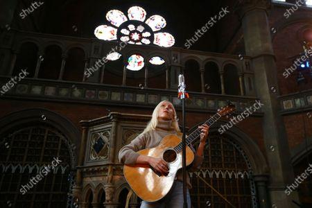 Editorial photo of Laura Marling Concert, London, United Kingdom - 06 Jun 2020