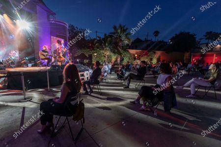 Editorial picture of First concert after Coronavirus Lockdown, Murcia, Spain - 06 Jun 2020