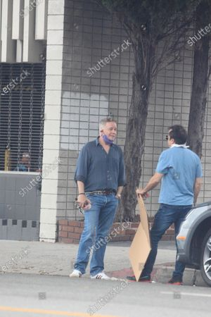 Stock Image of Spencer Garrett seen out and about