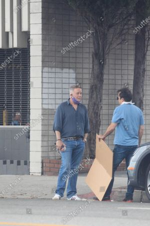 Spencer Garrett seen out and about