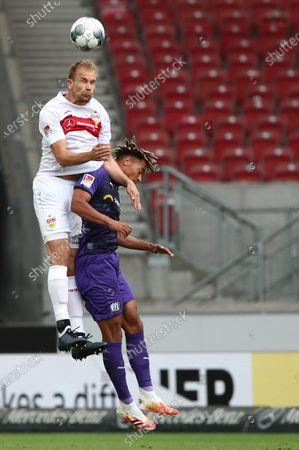 Editorial image of VfB Stuttgart vs VfL Osnabrueck, Germany - 07 Jun 2020