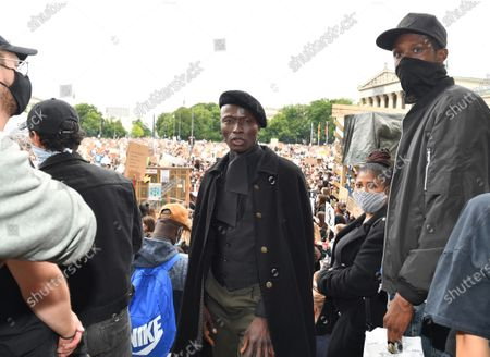 Editorial picture of Black Lives Matter protest, Munich, Germany - 06 Jun 2020