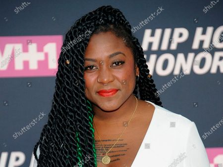 """Co-founder of Black Lives Matter Alicia Garza attends the arrivals at VH1's Hip Hop Honors at David Geffen Hall at Lincoln Center in New York. Black activists believe the police killing of George Floyd and the nationwide civil unrest that followed could be the catalyst for overhauling the criminal justice system. """"What we're facing is a real reckoning on a lot of levels,"""" said Garza. """"This (coronavirus) pandemic pulled back the curtains on decades of disinvestment, decades of devaluing and also now one of the major issues that black communities face is violence at the hands of the police"""