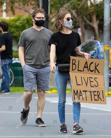 Editorial image of Black Lives Matter Protest, Los Angeles, California, USA - 06 Jun 2020