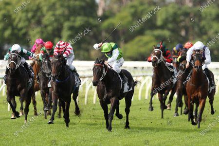 Editorial photo of Queen's Birthday races at Warwick Farm Racecourse in Sydney, Australia - 08 Jun 2020