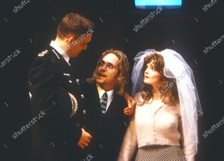 Stock Photo of Simon Dormandy Tom Hollander Sharon Small