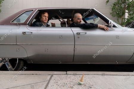 Bob Odenkirk as Jimmy McGill and Michael Mando as Nacho Varga