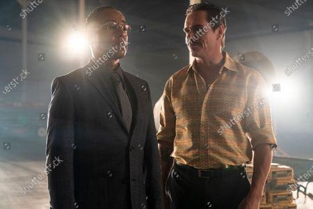 Stock Image of Giancarlo Esposito as Gustavo 'Gus' Fring and Tony Dalton as Lalo Salamanca