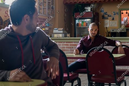 Max Arciniega as Domingo Molina and Michael Mando as Nacho Varga