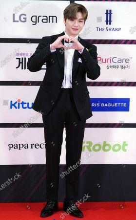 Editorial picture of The Brand Customer Loyalty Award 2020, photocall, Seoul, South Korea - 08 Jun 2020