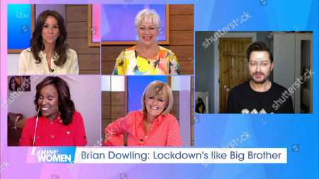 Andrea McLean, Denise Welch, Kelle Bryan, Jane Moore and Brian Dowling