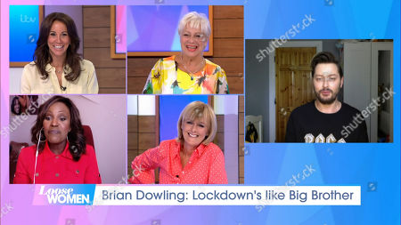 Stock Photo of Andrea McLean, Denise Welch, Kelle Bryan, Jane Moore and Brian Dowling