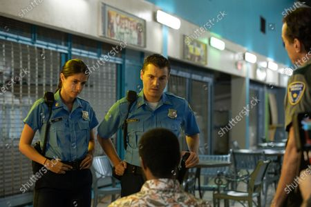 Stock Picture of Stephanie Cayo as Jess and Emile Hirsch as Cardillo