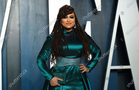 "Filmmaker Ava DuVernay at the Vanity Fair Oscar Party in Beverly Hills, Calif. DuVernay directed the four-part Netflix series ""When They See US,"" which explores the true story of the Central Park Five, five black and Latino teenagers who were coerced into confessing to a rape they didn't commit in 1989"